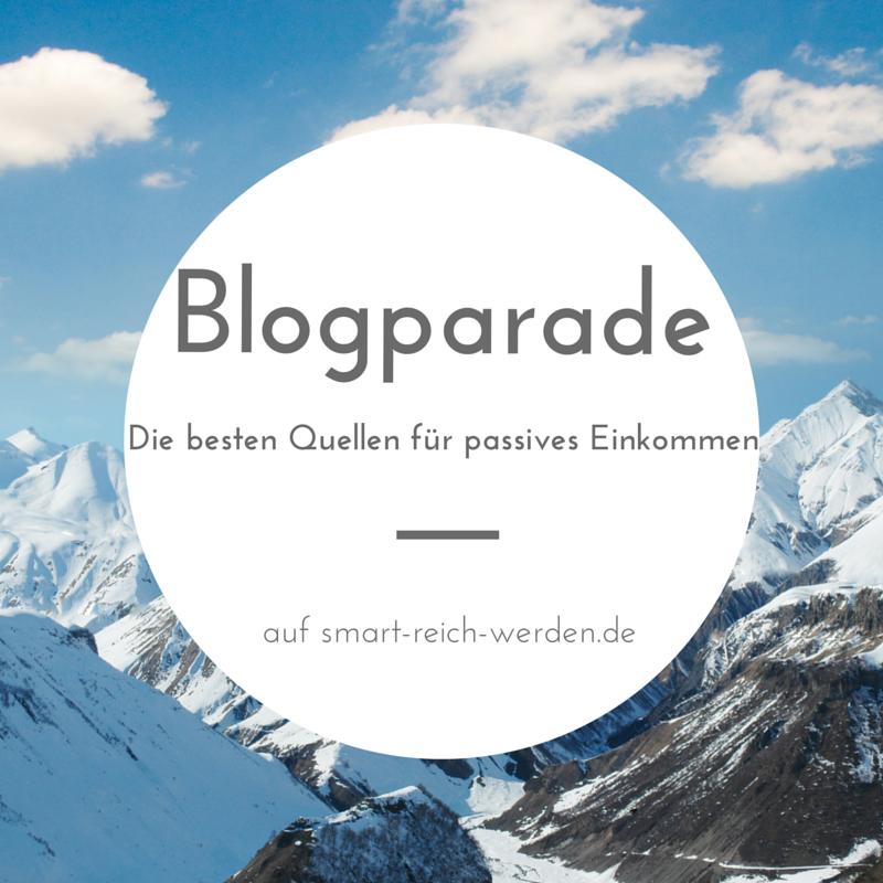 Blogparade zum Thema passives Einkommen
