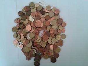 Tippe den Betrag des Geldhaufens richtig und gewinne