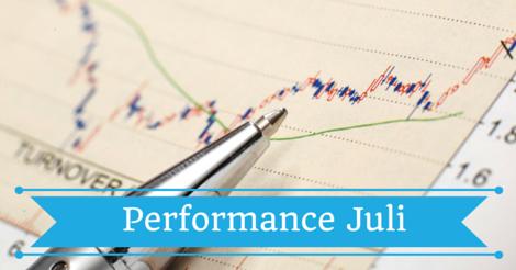Die Performance meines Dividenden Portfolios im Juli 2016